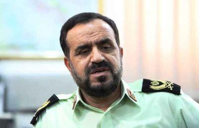 فرمانده پلیس ایلام: امنیت مسیر تردد زائران اربعین مطلوب است