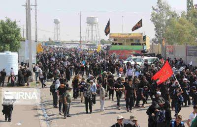 تردد زائران از مرزهای چهارگانه ۵۰ درصد افزایش یافت