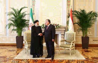 امضای ۸ سند همکاری در بخشهای مختلف میان ایران و تاجیکستان