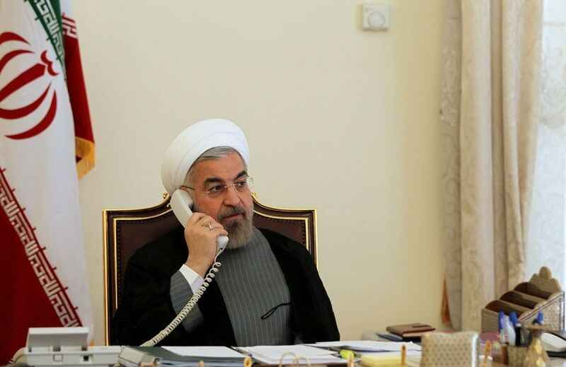 در گفتوگوی تلفنی با الکاظمی: روحانی: پیوند عمیق ملت ایران و عراق پشتیبان اجرای توافقهای دو کشور است
