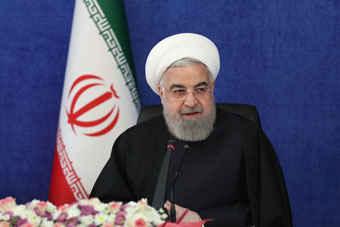 روحانی: به مردم اعلام میکنم که تحریم شکسته شده است