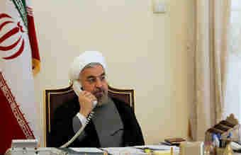 روحانی در گفت و گو با رییس جمهوری افغانستان: حملات تروریستی هدفی جز قرار دادن دولت افغانستان در موضع ضعف ندارد